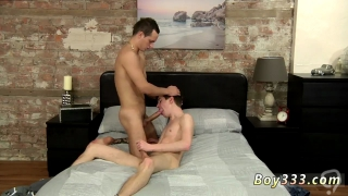 Young boys with treasure trail gay first time Luke Takes Long Cock Up His Hole