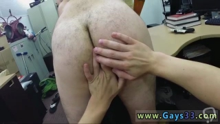 Young hunk cumming gay Straight stud goes gay for cash he needs
