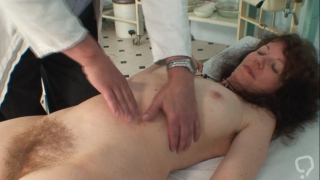 Full gyno exam for hairy mature