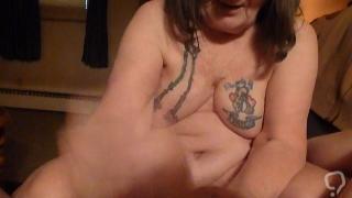 Fist fucking my husband making him cum i am his whore