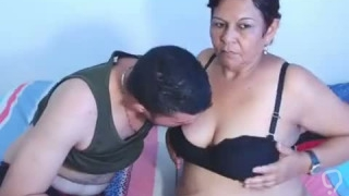 Latin mature mom