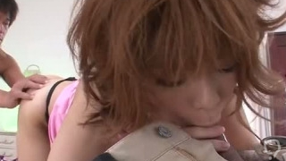 Kinky girl Junna Hara enjoys being drilled