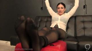 tickle pantyhose