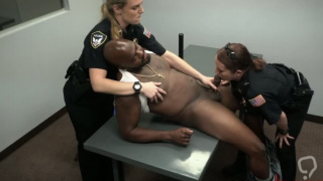 Put your black ass on my interrogation table  bitch