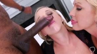 Lezzie centerfolds open up their deep ass holes and screw monster sex
