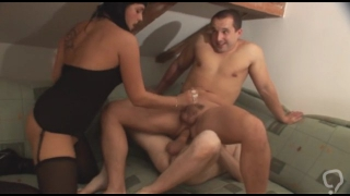 great threesome bisexual blowjob