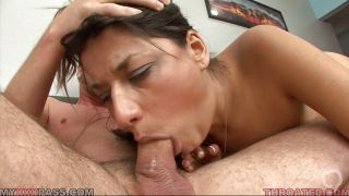 She Knows How To Take Dick Deep Inside Her Throat