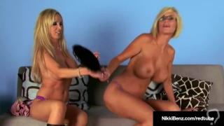 Penthouse Pet Nikki Benz & Busty Blonde Puma Swede Cam Fuck!