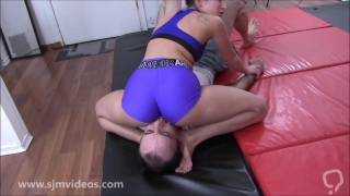THE PINCOUNT QUEEN - Submission Wrestling Humiliation
