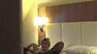 Hidden mast - girl in hotel