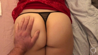 Another man spanking my wife