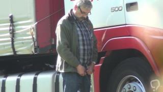 Truckers Peeing in Public 48