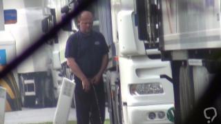 Truckers Peeing in Public 47