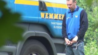 Truckers Peeing in Public 43