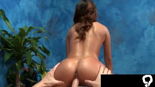 Hot brunette minx alina li gets pounded