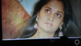 CUM on Shalini Anni